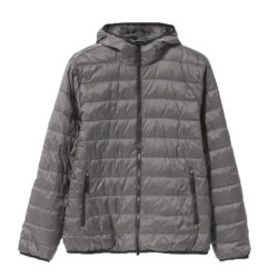 The ReNew Lightweight Hooded Puffer